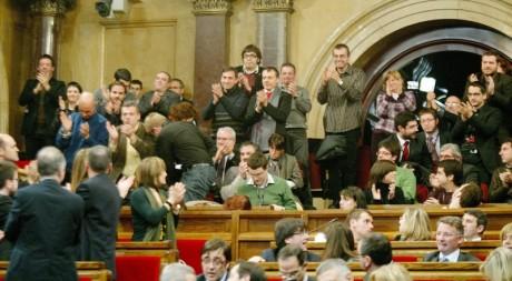 Aprovació llei de consultes, drets a l'ultima bona part de l'executiva d'ERC d'Arenys de Munt